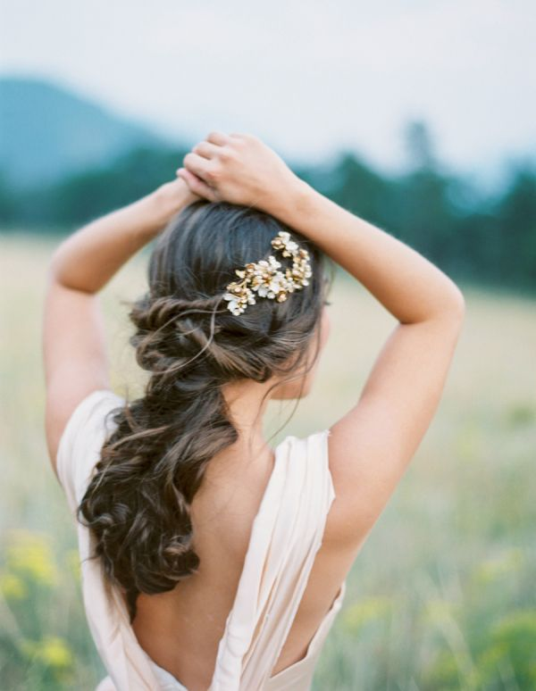 Glam half up curls: http://www.stylemepretty.com/collection/3315/