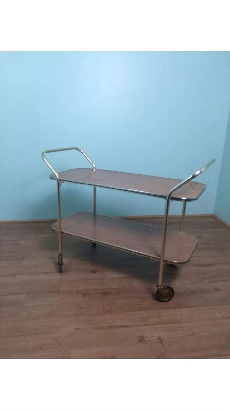 Vintage Retro 1950's Long Metal Tea Hostess Trolley by RekindledLove on  Etsy https://