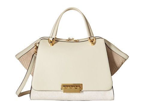 Zac Zac Posen Eartha Iconic Jumbo Double Handle Ivory