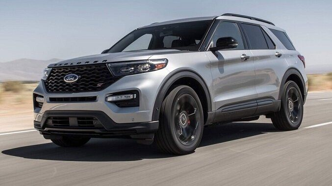 2020 Ford Explorer St Pov Drive Ii Winding Road 2020 Ford