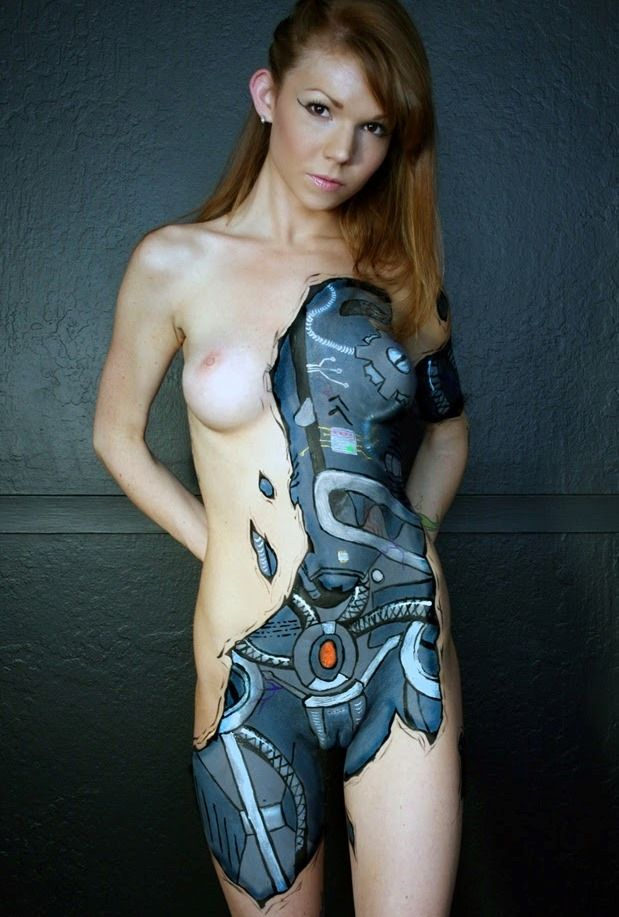 Nude slitly heavy women