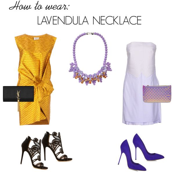 Lavendula necklace