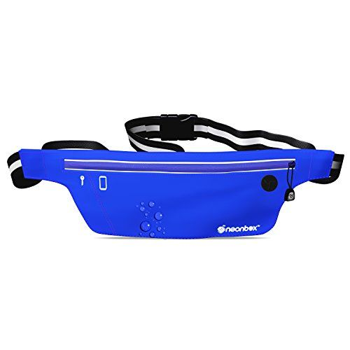 Neonbox Sport Waterproof and Sweatproof Running BeltFitness Belt Slim design Fit most popular smartphones iPhone  Samsung Galaxy Note S6S5S4 For running fitness cycling hiking and more *** More info could be found at the image url.(This is an Amazon affiliate link and I receive a commission for the sales)