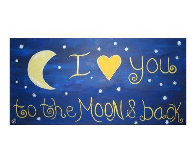 <3: Sweet Words, Theme Rooms, Grandkids, Sylvia Jahshan, Grand Kids, Night Time, Baby Girls, The Moon, Kids Rooms