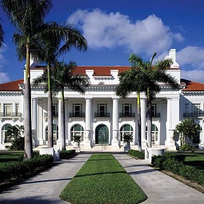 Whitehall | Where: Palm Beach, Florida  When to go: Open Tuesday through Sunday and closed on major holidays; $18 for admission, which includes a guided tour; flaglermuseum.us | SouthernLiving.com