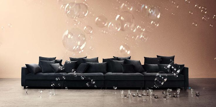 Black Mr. Big Modular Sofa From Bolia Designed By Says Who, D123 H60 Cm |  Ynskilistin | Pinterest | Mr Big