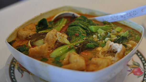 Mouthwatering Malaysian Vegetable Laksa | Vegetables