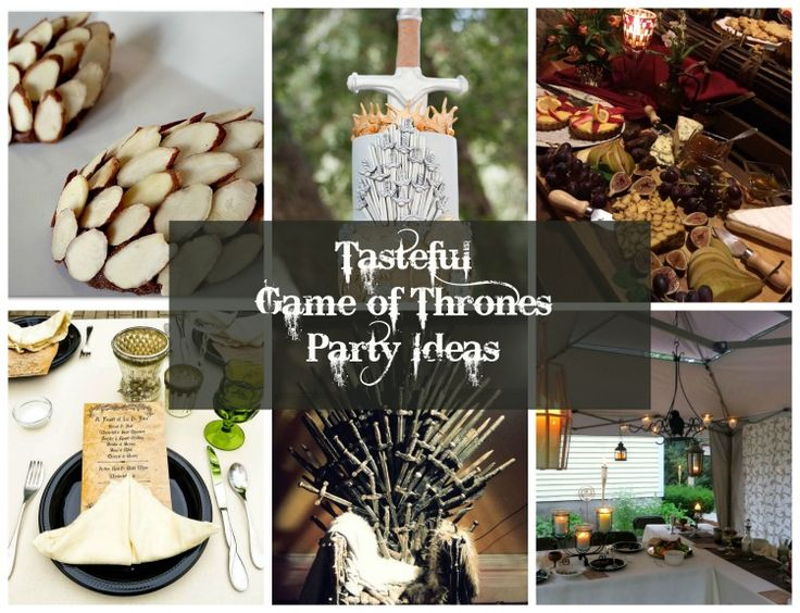 17 best images about tasteful game of thrones party ideas for Game of thrones birthday party