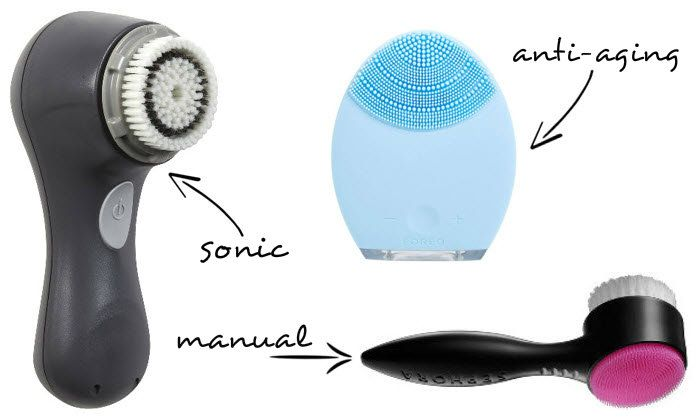 9 Best Facial Cleansing Brushes 2016 - Clarisonic Face Brush Reviews