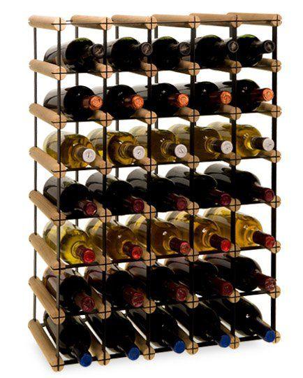 Stojak na wino RW-8 5x7 regał 35 butelek do wina - Seria RW-8 - Regały na wino