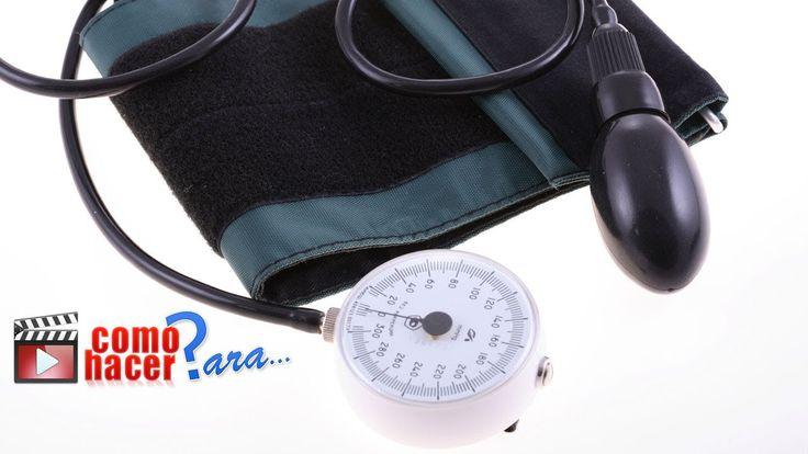 Cómo medir la Presión Arterial correctamente
