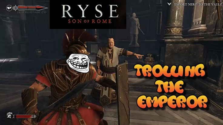 """Ryse: Son of Rome; """"Trolling the Emperor"""""""