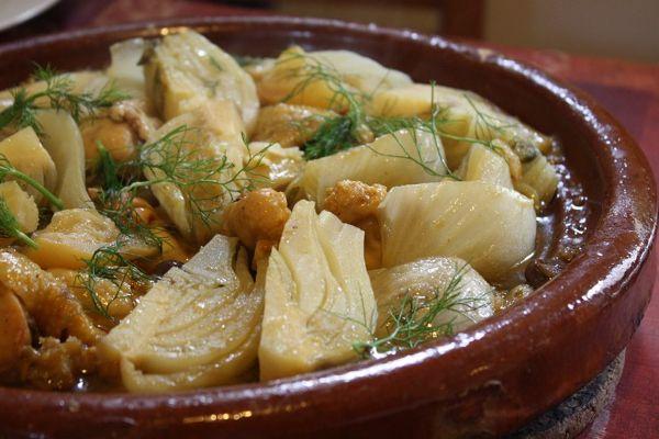 Ons recept van de dag: Tajine met venkel. Op Bladna.nl kan je uiteraard nog veel meer leuke Marokkaanse recepten vinden.