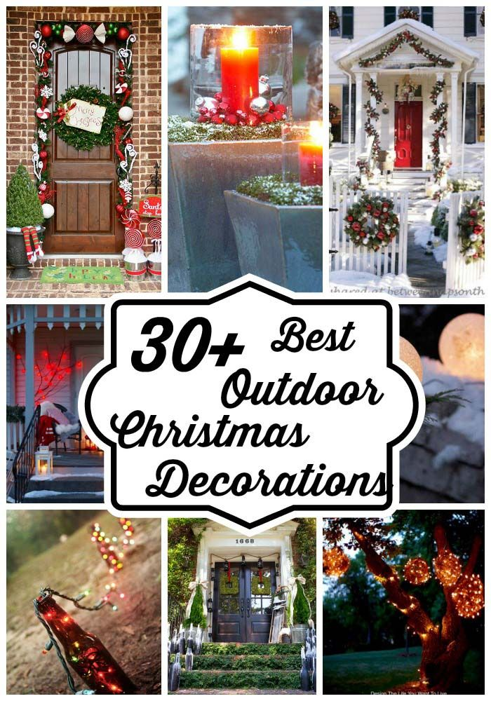Outdoor christmas decorating ideas collection for you. The