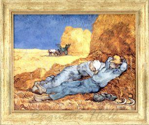 "Арт-постер ""Сиеста"" автор Винсент Ван Гог"