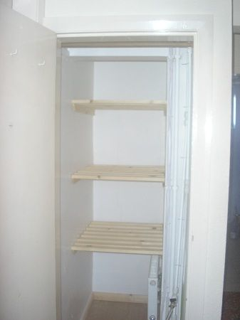 Image result for airing cupboard with radiator