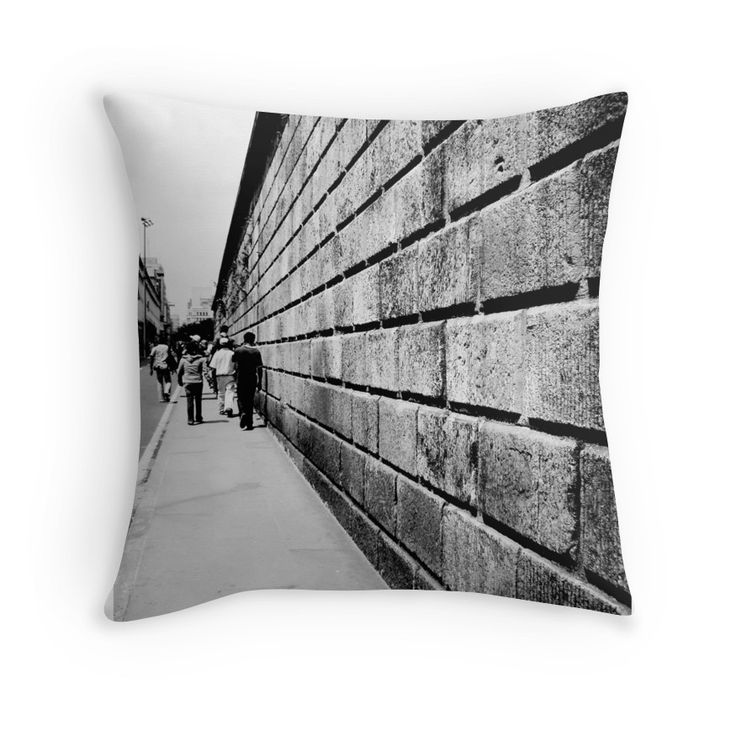 Street Lines by nath-gary #Home #Pillow #Photography #UrbanPhotography #People #Architecture #Urban #BlackAndWhite #Lines #Perspective