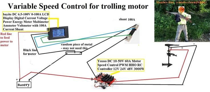 Building A Variable Speed Switch For My Trolling Motor