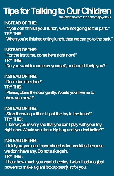 tips for talking to kids
