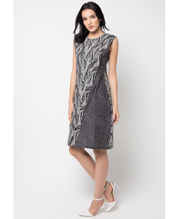 dress-kombinasi-tanpa-lengan.jpg (700×856)
