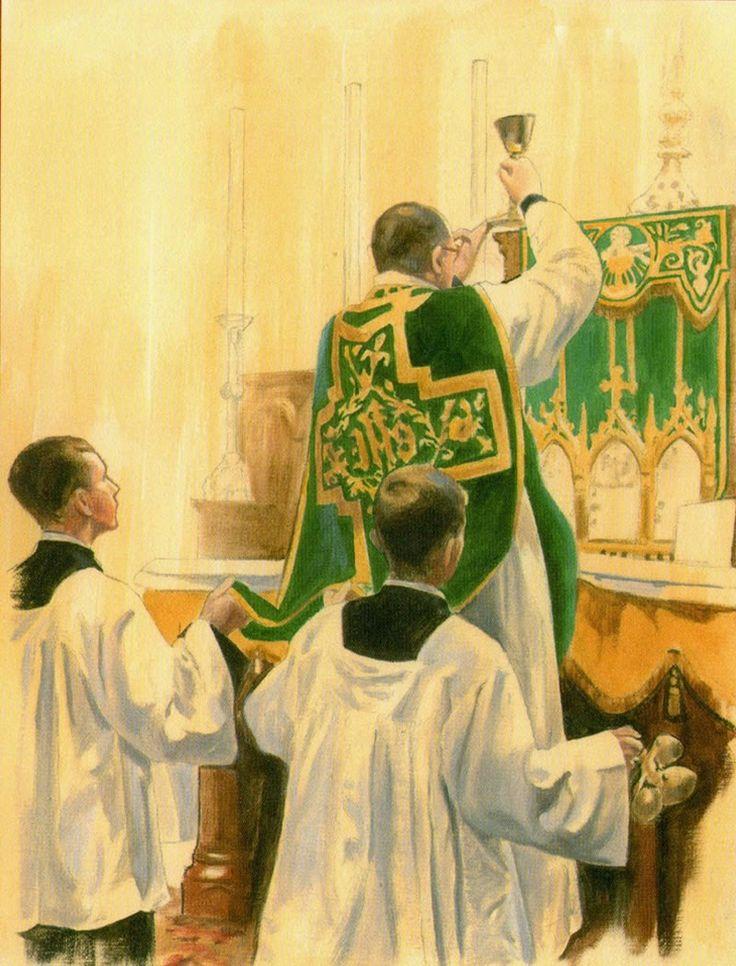 Elevação do Cálice Santa Missa de Sempre - Imagens - Associação Santo Atanásio