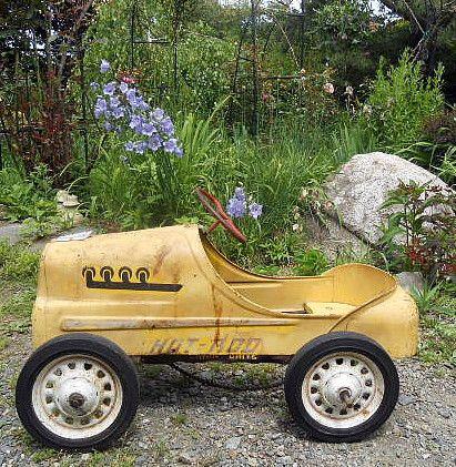 ORIGINAL 1950s Childs Garton Hot Rod Racer Pedal Car #5