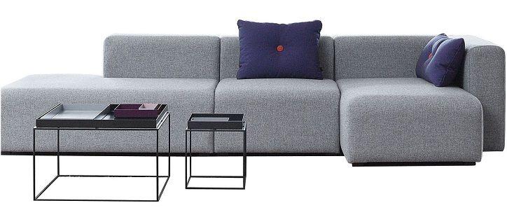 Canapé d'angle Mags Hay L 302 cm Accoudoir droit prix promo Canapé Made in Design 2 769,36 € TTC au lieu de 3 147 €