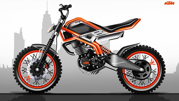 Ktm 135 Scrambler A Low Cost Motorcycle For India On Behance