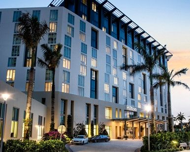 Hilton West Palm Beach Hotel, FL - Hotel Exterior