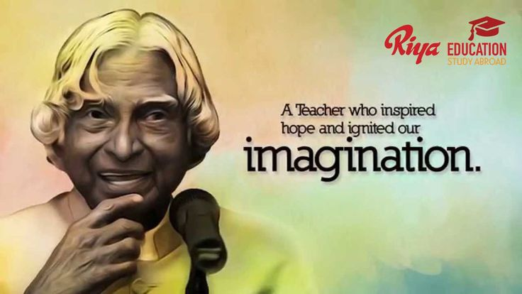 """UN declared Oct 15th APJAbdulKalam's birthday as """"WORLD STUDENTS DAY """".Great honor given to the great personality."""