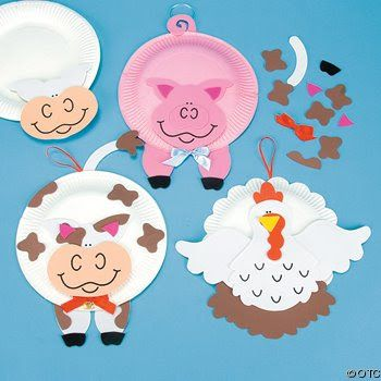 ANIMALES plato desechable