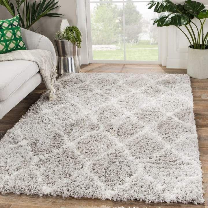 Ackermann Trellis Gray Area Rug Joss Main Rugs On Carpet Rugs In Living Room Cool Rugs