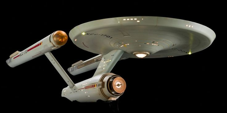 "Fully Restored ""Star Trek"" Enterprise Unveiled at Smithsonian Air and Space Museum"