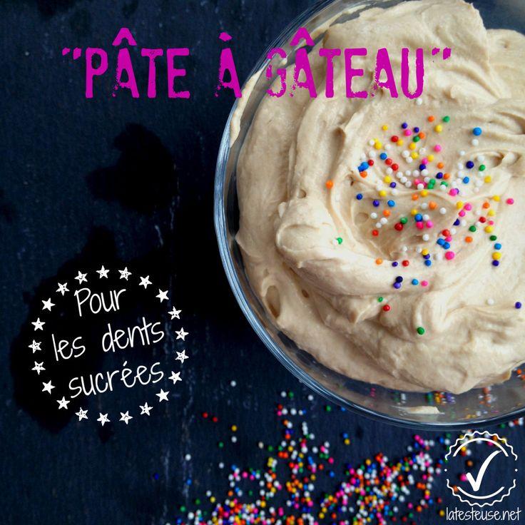 """""""Pâte à gâteau"""" protéiné ou la parfaite collation pour dents sucrées"""