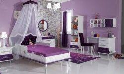 Παιδικό Δωμάτιο Princess Μοβ