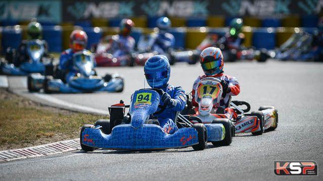 NSK: Renaudin champion Rotax Max