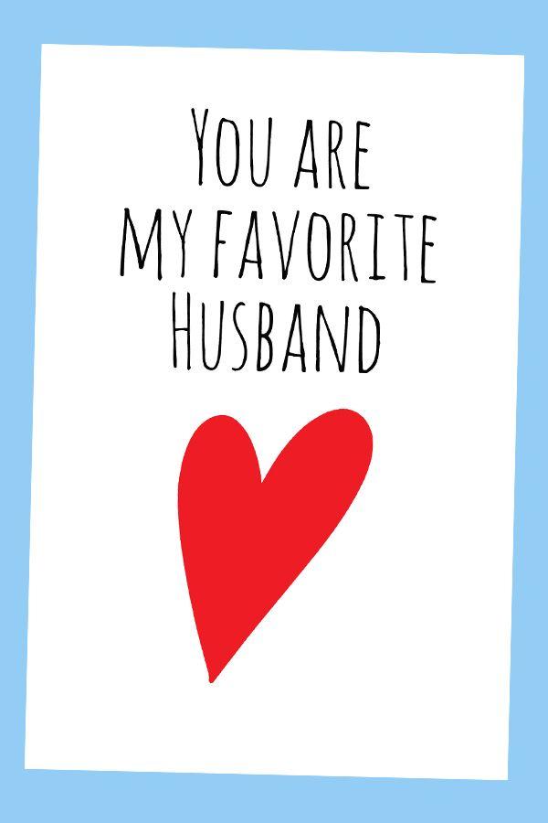 Printable Birthday Cards For Husband : printable, birthday, cards, husband, Birthday, Husband,, Digital, Printable, Husband, Card,, Cards, Funny