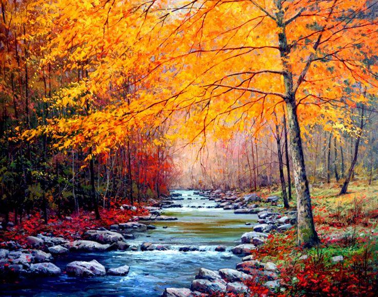 río de otoño
