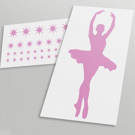 Adesivo Decorativo Bailarina - Miho Studio Brasil