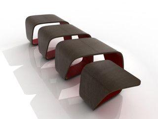 DNA è un sistema di sedute disegnato da Leonardo Rossano e Debora Mansur. #gooddesignaward