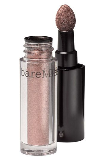 Was never really into makeup until I found out how easy Bare Minerals is to apply.  Bare Minerals Eye Color in Meteorite.