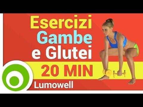 Esercizi Gambe e Glutei Donne - YouTube