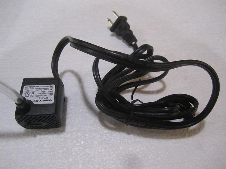Spare Electric Water Pump for Tabletop Fountain - 40GPH - No Lights