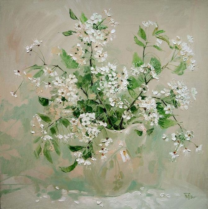 Flower Paintings by Maria Pavlova - AmO Images - AmO Images