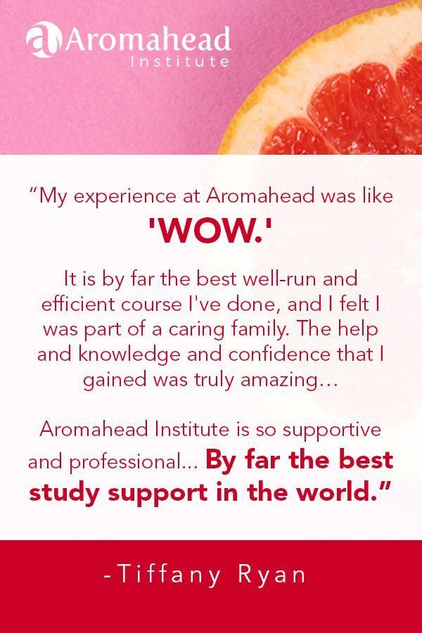 Tiffany Ryan Graduate Aromatherapy Certification Program