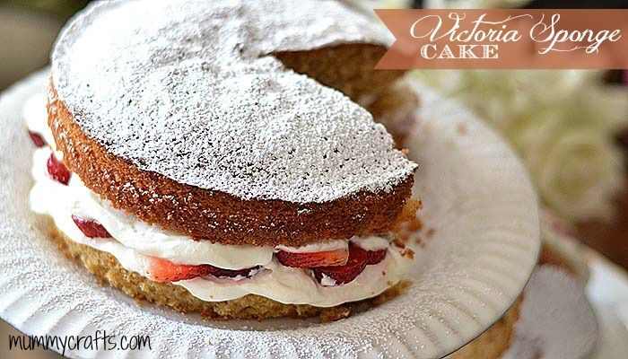 Receta Victoria Sponge Cake