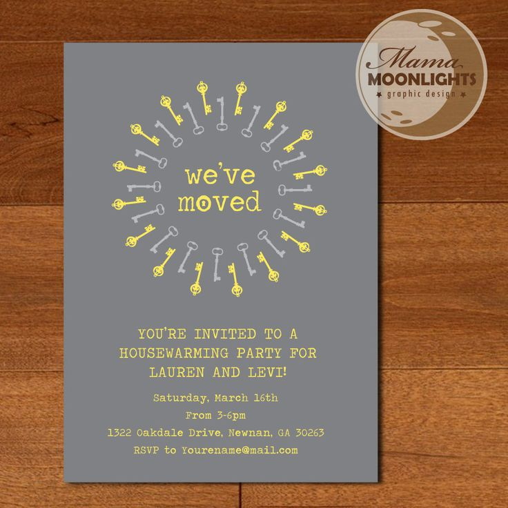 52 best Anniversary Housewarming Party Ideas images on Pinterest - best of invitation letter format for housewarming