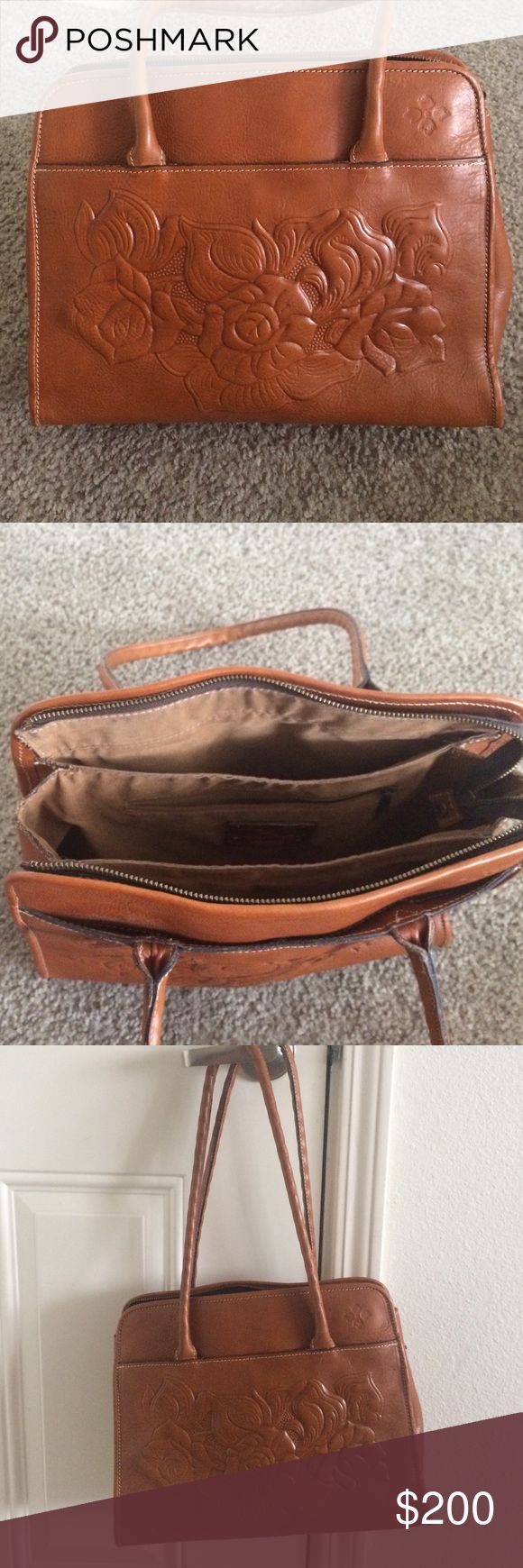 Patricia Nash!!!! Beautiful Patricia Nash bag!!!!  The leather and design on this beautiful bag are magnificent. Willing to trade for like value Patricia Nash Bags Satchels