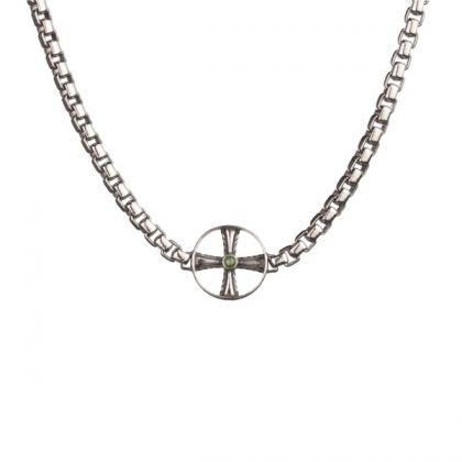 Kalevala Koru / Kalevala Jewelry / Väinö Necklace / Väinö kaulakoru / Designer: Tony Granholm / Material: silver