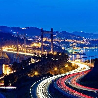 Puente de Rande, Vigo, Galicia